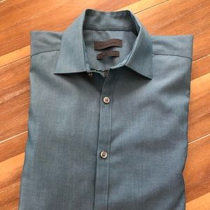 Calvin Klein Men's Button Down Dress Shirt